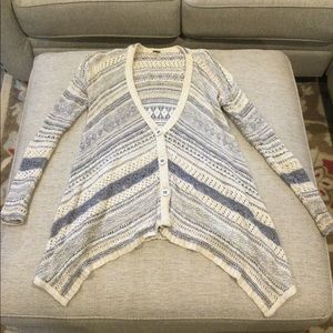 Free People oversized sweater size small